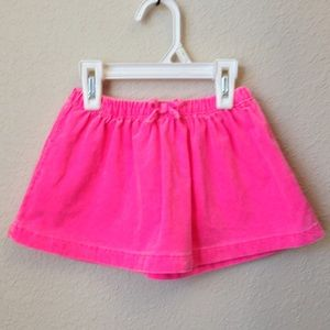 👶 Carter's Corduroy Skirt and Diaper Cover Set